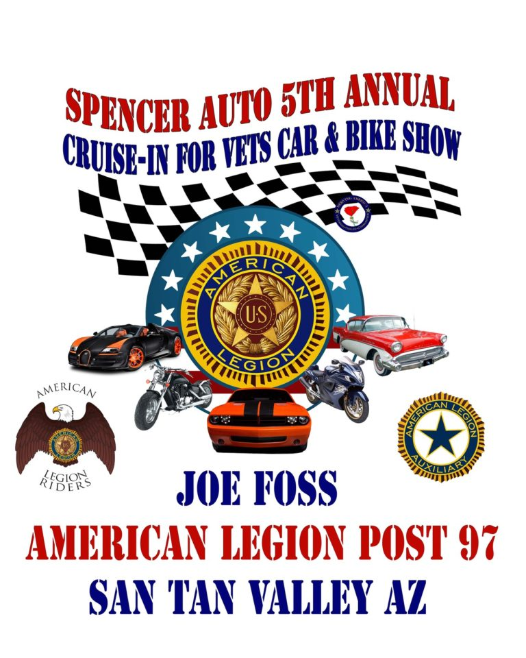 Cruise in for Vets Logo